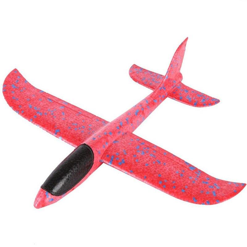 Epp пена ручной бросок самолет Открытый Запуск Plane Самолет детский подарок 35 см 48 см самолет интересные игрушки