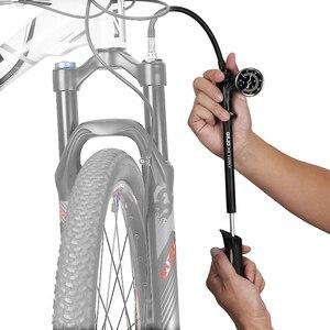 Image 5 - Giyo 300psi MTB Shock Fork Pump Schrader Valve Bicycle Tire Mini Air Inflator Cycling Portable Fork Rear Suspension Hand Pump