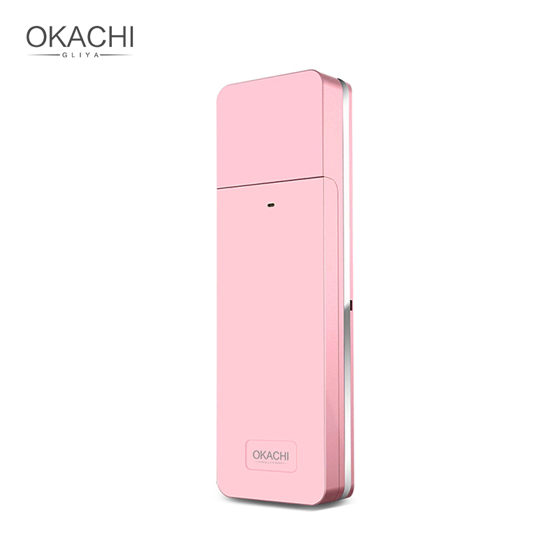 Portable Nano Facial Mist Spray Hydrating Refresh Soft Skin Mister Mini Humectant Beauty Skin Care Tool Water Spa OKACHI GLIYA