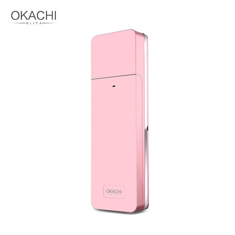 Portable Nano Facial Mist Spray Hydrating Refresh Soft Skin Mister Mini Humectant Beauty Skin Care Tool Water Spa OKACHI GLIYA
