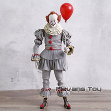 Stephen King's Pennywise Horror Movie Figure PVC NECA Giocattoli Action Figure Collection Model Toy(China)