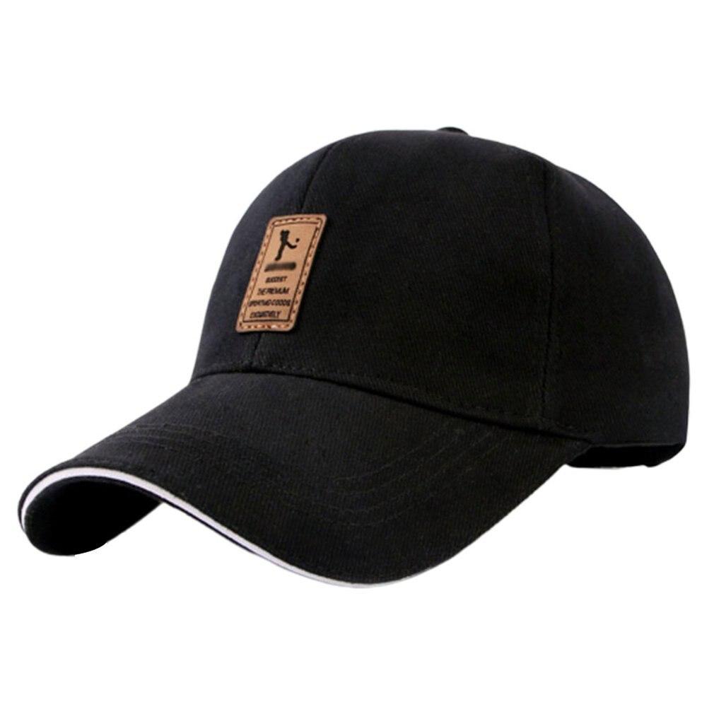 Men'S Baseball Caps Cotton Caps Autumn Hats Outdoor Sports Sunhats Twill Soft Light Comfortable Fashion
