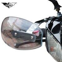 Motorcycle handguards windshield Hand guard Deflector for gorras honda moto suzuki 1200 bandit ktm 450 exc 2005 aprilia tuono