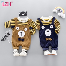 Infant Clothing T-Shirt Costume Pants Outfits Suit Baby Newborn Baby-Girls LZH for