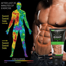 Aichun New Abdominal Muscle Cream Powerful Muscle Strong Anti Cellulite Burn Fat Product Weight Loss Cream Men Women 80ml*170ml