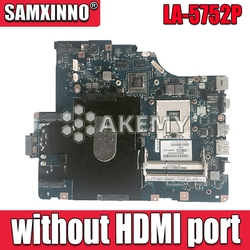 LA 5752P płyta główna dla lenovo G560 Z560 laptopa płyty głównej płyta główna w Z560 płyta główna (bez port hdmi) Test płyty głównej płyta główna w Płyty główne od Komputer i biuro na