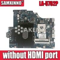 Placa base LA-5752P para For Lenovo G560 Z560 placa base para ordenador portátil Z560 placa base de prueba (sin puerto HDMI)