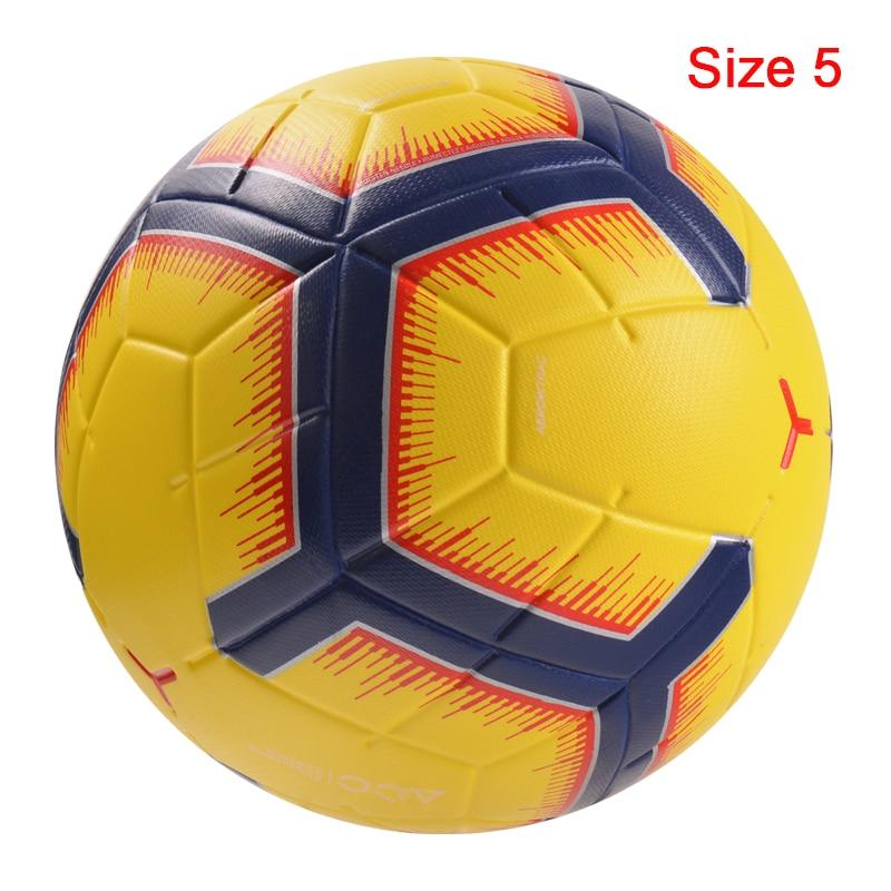 Professional Size5/4 Soccer Ball Premier High Quality Goal Team Match Ball Football Training Seamless League futbol voetbal 15
