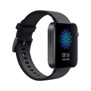 Image 3 - Xiaomi Smart Mi Watch GPS NFC WIFI ESIM Phone Call Bracelet Android Wristwatch Sport Bluetooth Fitness Heart Rate Monitor Track