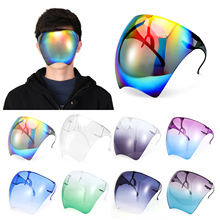 Oversized Anti Fog Safety Goggles Sunglasses Visor UV Protective Full Face Cover Outdoor Daily Entertainment Eyewear