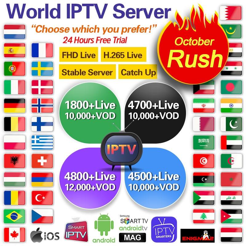 Italy IPTV France Arabic Dutch IPTV Code for Android M3U IPTV Subscription IPTV Belgium Portugal Greek QHDTV SUBTV IUDTV IP TV-in Set-top Boxes from Consumer Electronics