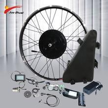 Puissant Kit de vélo électrique 48V 1000W avec batterie au Lithium 20ah, roue motorisée sans blush, pour bricolage