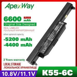 11,1 V ноутбук Батарея A32-K55 для Asus K55A K55D K55DE K55DR K55N K55V K55VD K55 X45A X45C X55 X55A X55C X55U X55V X55VD серии