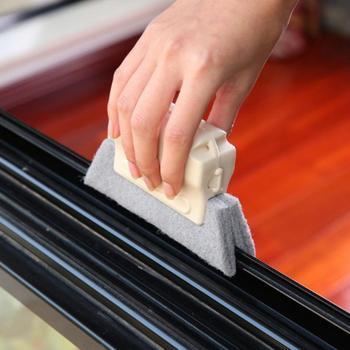 Szczotka do rowków okiennych ściereczka do czyszczenia szczotka do czyszczenia okien szczotka do czyszczenia okien szczotka do czyszczenia okien tanie i dobre opinie Other 1*Groove Brush Okno Ręcznie
