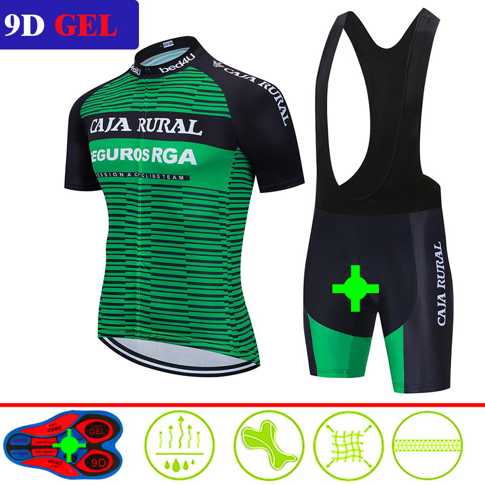 2020 New SCOTT Summer Cycling Jersey Set Breathable Team Racing Sport Bicycle Jersey Mens Cycling Clothing Short Bike Jersey NW