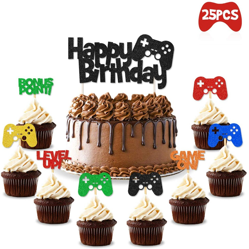 video games theme party supplies 25pcs video games latex balloons childrens birthday party decorations