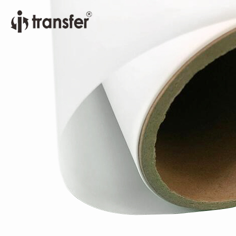 60CMx100M PET Film Roll Size Direct Transfer Printing Film For Garment Heat Transfer Paper DTF Roll Films