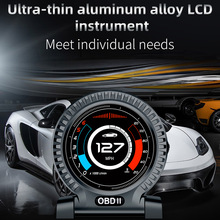 Head-Up-Display Car-Dashboard Obd2 Lcd Digital Monitoring Clock-Meter Turbo-Brake Computer-Speed-Rpm