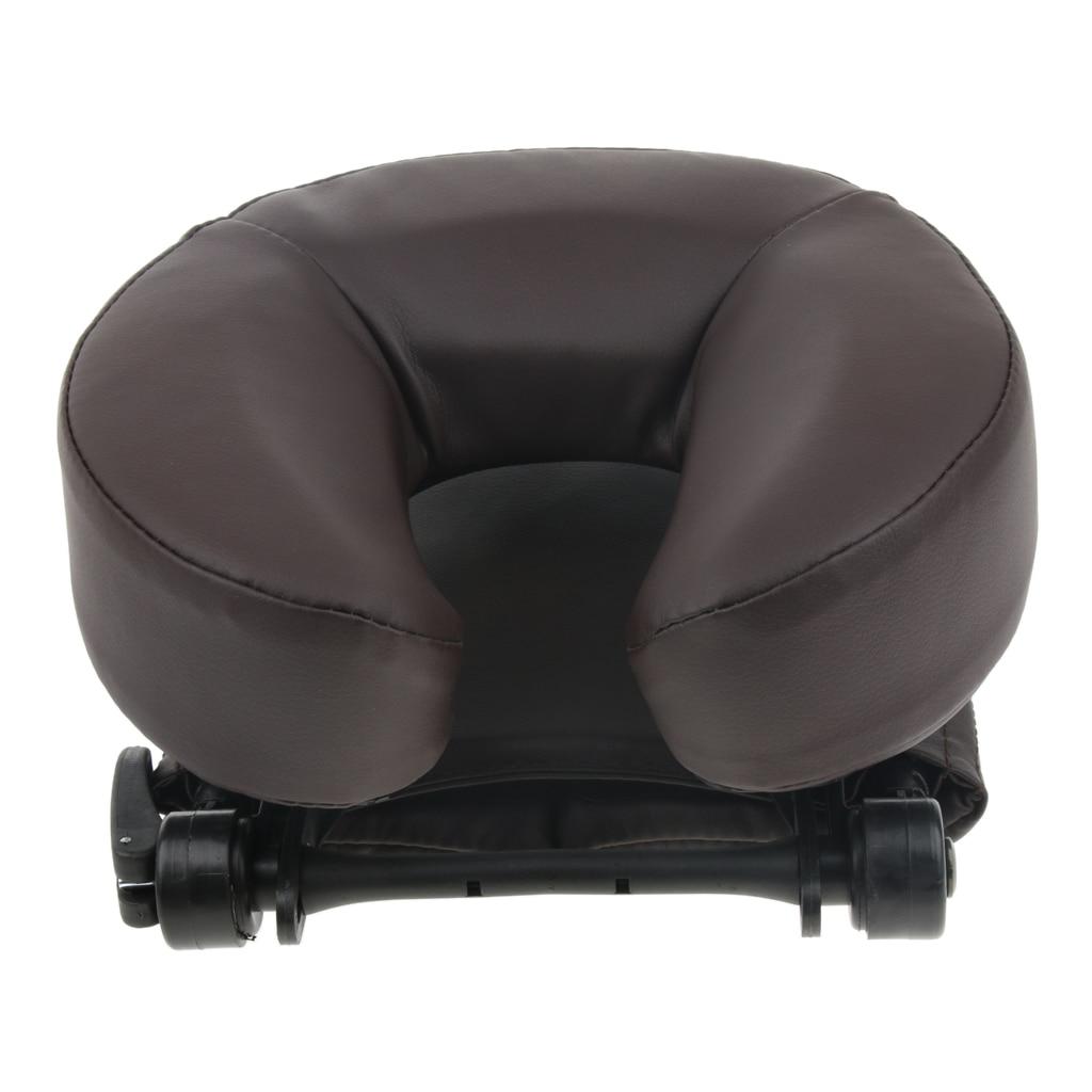 Mousse SPA Massage Table oreiller U forme traversin Face vers le bas berceau sieste coussin de couchage pour bureau école voyage Salon - 5
