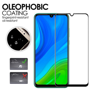 Image 2 - 4in1 Tempered Glass For Huawei P Smart Screen Protector for Huawei P Smart 2018 Full Cover PSmart Z Y5P Y6P Y8S Camera Protector