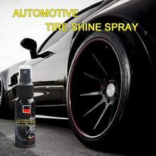 Car-Wheel Spray Tire Shine-Cleaner Polish Cleaning-Refurbishing Auto-Tire-Shine-Spray