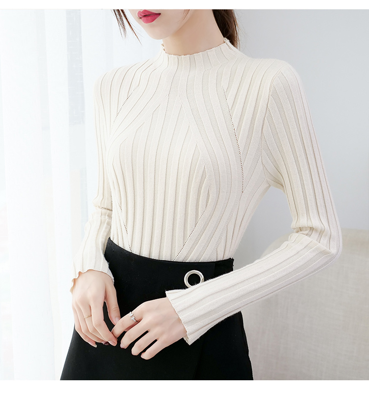 Sweaters fashion 19 women sweaters ladies winter clothes women knit solid black long sleeve tops sueter mujer Pullovers 0364 29