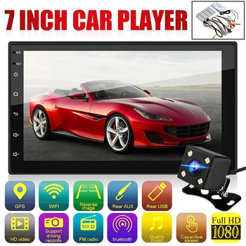 7 HD 2 din Android 8.1 Car Multimedia Player Car Radio Autoradio GPS Touch Screen MP5 Wifi bluetooth Rear View Camera Parking image