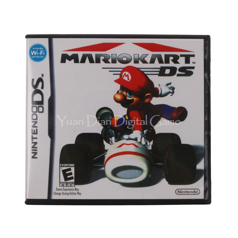 For Nintendo DS 2DS 3DS Video Game Cartridge Console Card Mari Kart English Language US Version 1