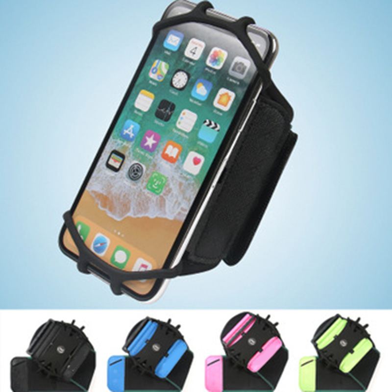360 Degree Rotatable Sport Wristband Cell Phone Holder For 4.0-6.5in Phones Walking Jogging Running  Best Sale-WT