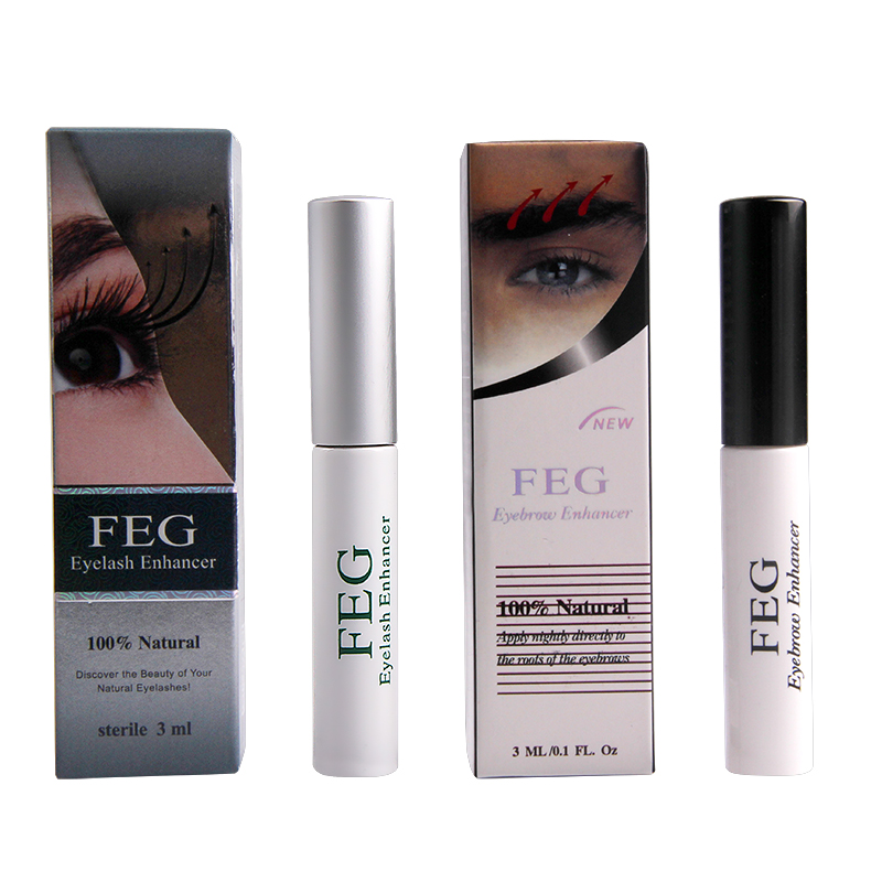 FEG cejas potenciador de pestañas FEG Original aumento de las cejas crecimiento suero largo más grueso cosméticos conjunto crescer sobrancelha crece ceja