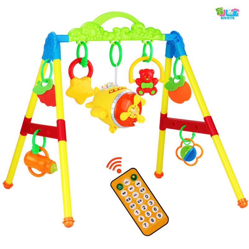 Infant Fitness Frame Maker GIRL'S Newborns 0-1 Years Old Baby Educational With Music Boy Toy 3-6-12 Month
