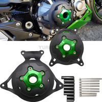 Motorcycle Accessories Engine Stator Cover Engine Guard Protection Side Shield Protector For KAWASAKI Z750 2007 2012 Z800 13 16
