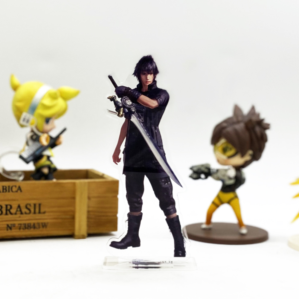 Final Fantasy XV FF 15 Noctis Lucis Caelum HM Acrylic Stand Figure Model Plate Holder Cake Topper Game Japanese