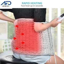 60x30cm EU/US Electric Heating Pad Washable Washable Blanket Therapy Heating Pad for Shoulder Neck Back Warming Products