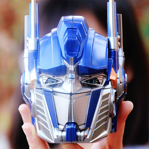 Image 2 - Qiyi High quality 12x15x20cm Bumblebee Optimus Prime Transformation Robot Head 2x2 Cube puzzle