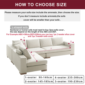 Image 3 - Solid Color Corner Sofa Covers for Living Room Elastic Spandex Sectional Slipcovers Couch Cover Stretch Sofa Towel