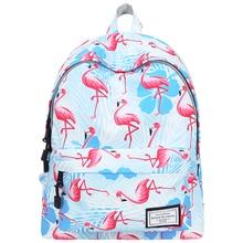 Backpack Women Shoulder Bag Casual Flamingo Backpack High Capacity Back To School Bag Teenage Girl Travel Laptop Bagpack Mochila