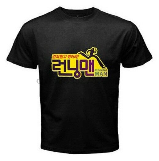Running Man Logo Tee South Korean Comedy Tv Show T Shirt S M L Xl 2xl 3xl T Shirts Aliexpress