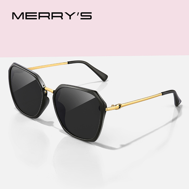 Gafas de sol de diseño cuadrado polarizadas UV400