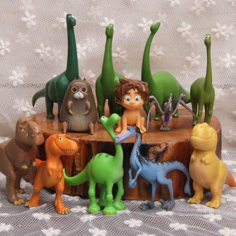 12 шт., Детский динозавр, Серия животных, модель, кукла, игрушка для детей, фигурка, игрушки, подарок для вечеринки, обучающая игрушка для мальч...