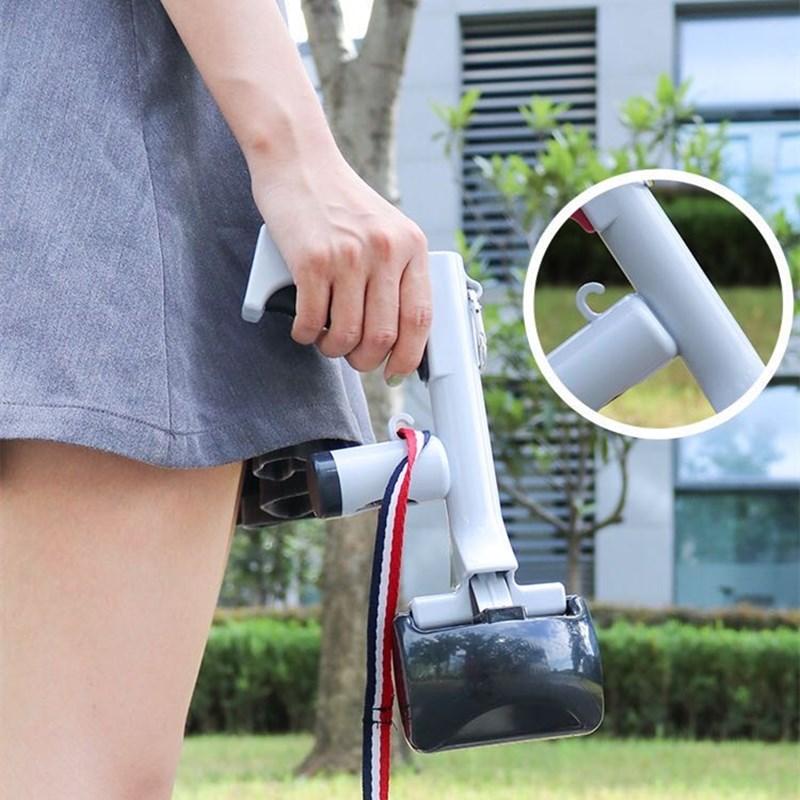 2 в 1 держатель для уборки на открытом воздухе Инструменты очистки