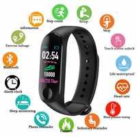 Doolnng Uomini di Smart Vigilanza di Frequenza Cardiaca Monitor di Pressione Sanguigna di Inseguitore di Fitness Camminatore Attività Monitor SmartWatch Donne Sonno Tracker