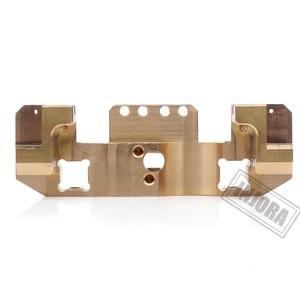 Image 5 - INJORA Metal Brass Front Servo Stand for 1/10 RC Crawler Car Traxxas TRX4 TRX 4 TRX 6 Upgrade Parts