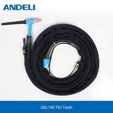 ANDELI TIG Torch Welding Gun QQ-150 4m for TIG Welding Machine TIG Welding Torch 150 qq qq 150 15 150 15