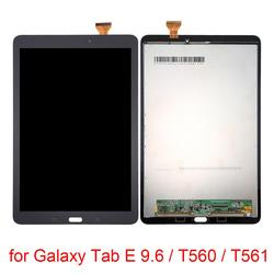 Dla Galaxy Tab E 9.6 ekran LCD i Digitizer pełna zgromadzenia wymiana dla Galaxy Tab E 9.6/T560/ t561