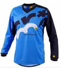 2021 Enduro koszulki rowerowe Motocross Bmx koszulka wyścigowa Downhill Dh z długim rękawem odzież rowerowa Mx lato Mtb T-shirt tanie tanio CN (pochodzenie) SILK Stretch Spandex Modalne NYLON Rayon Pełna Unisex Wiosna summer AUTUMN Winter Nie zamek Jazda na rowerze