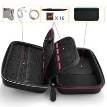 حقيبة التخزين السفر واقية حامل بطاقة حمل ل 3DSXL جديد 3DSXL/LL دعم دروبشيبينغ