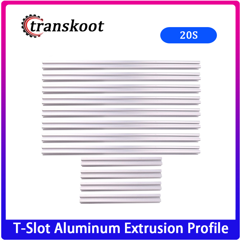 3D printer frame T-Slot Aluminum Extrusion <font><b>Profile</b></font> <font><b>2020</b></font> Series <font><b>1000mm</b></font> 800mm 500mm Kits image