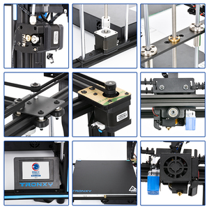 Image 5 - 2020 Upgraded 3D Printer Tronxy X5SA Filament Sensor Large Plus Size 330*330mm hotbed Full Metal TFT Touch Screen 3d Printer