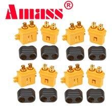 10 x Amass XT60+ XT30U XT60U XT90 XT90-S MR60 MR30 XT60PW XT90PW XT30PW AS150 XT150 XT60-P MR30PB MT30 MT60 Connector (5 Pair )